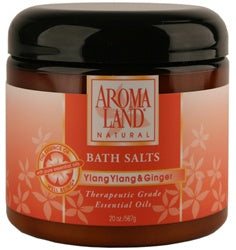 YLANG YLANG & GINGER BATH SALTS