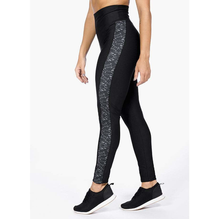 GIA - Legging High Waist Black Mamba
