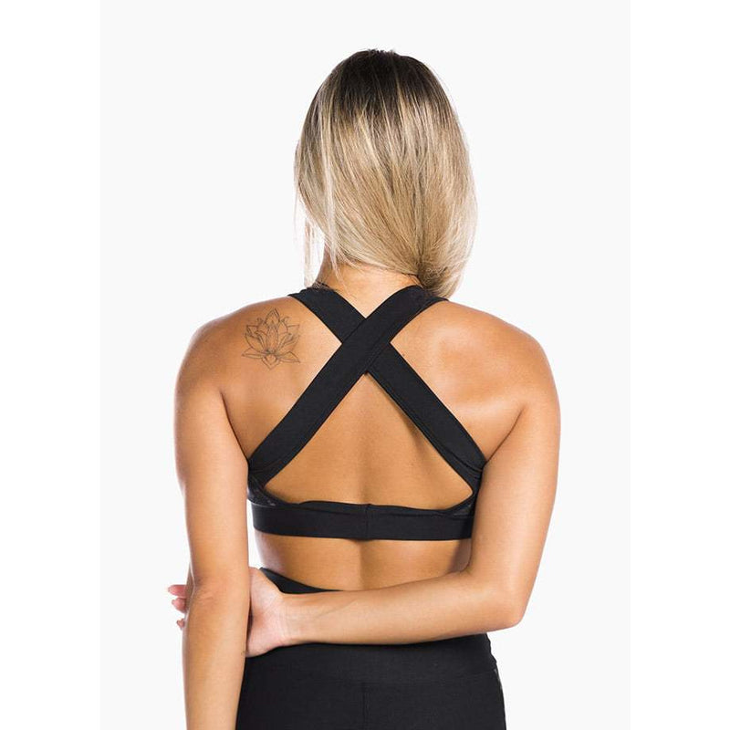 GIA - Sports Bra Black Mamba
