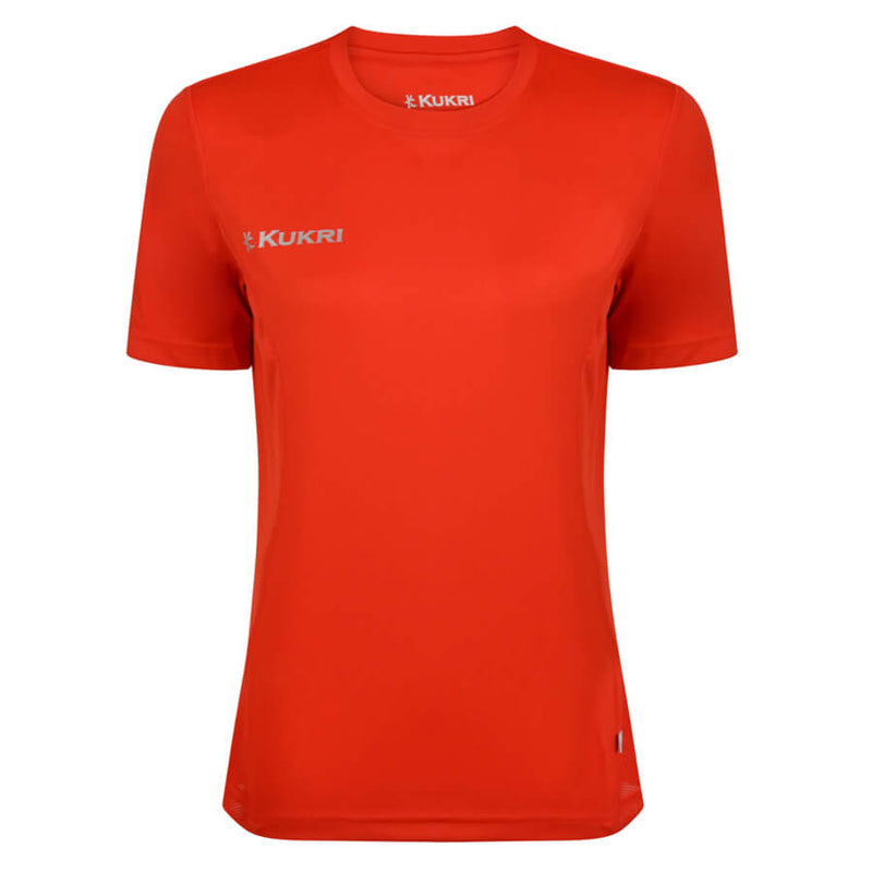 Kukri Womens Scarlet Red T-Shirt