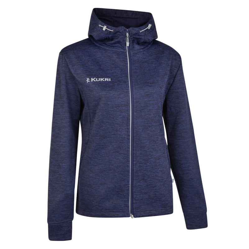 Kukri Navy Heather Full Zip Hoodie