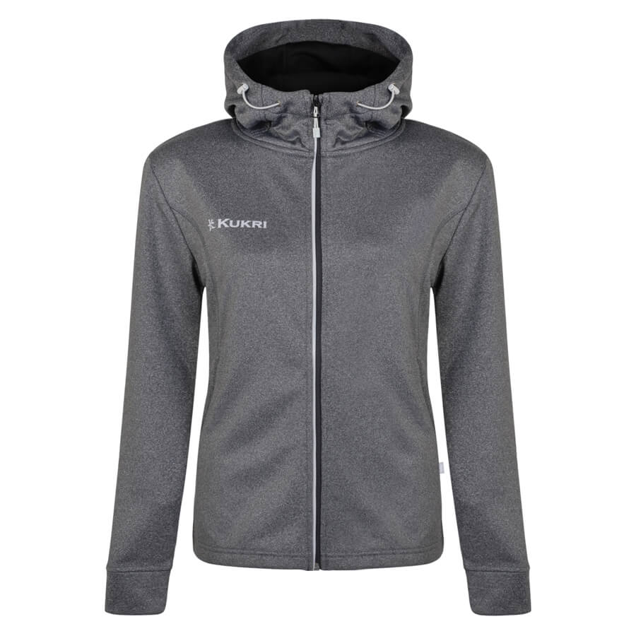 Kukri Charcoal Heather Full Zip Hoodie