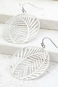 Tropical Paradise Earrings in Silver