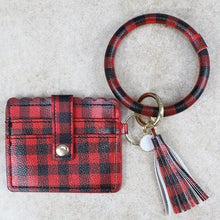 Load image into Gallery viewer, My Cute & Convenient Bracelet Wallet in Plaid