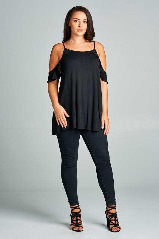 Sweet in the Summertime Top in Black