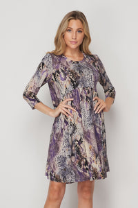 Purple Paradise Honey Me Baby Doll Dress