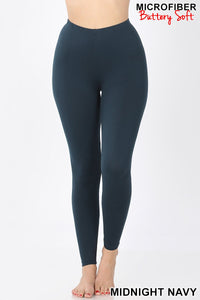 My Soft & Cozy Leggings in Midnight Navy