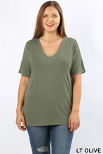 Load image into Gallery viewer, Into the Basic Tee in Olive