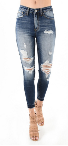 Nature Denim - Distressed Jeans