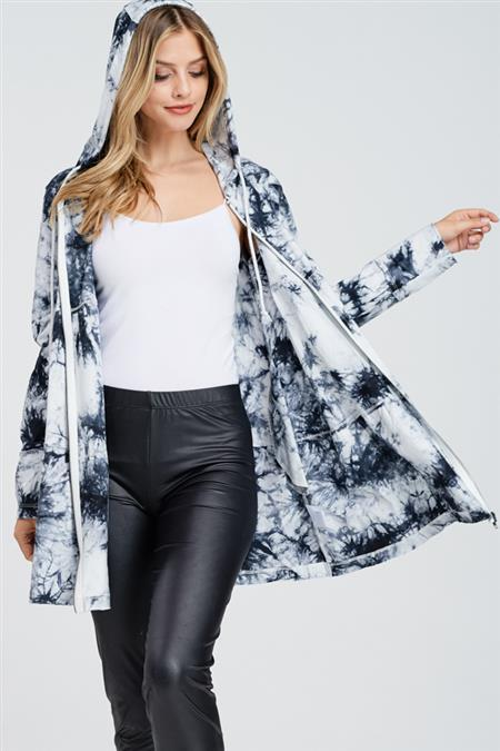 Spring with Style Tie Dye Jacket