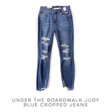Load image into Gallery viewer, Under The Boardwalk Judy Blue Cropped Jeans