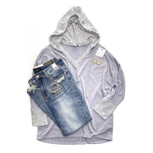 Load image into Gallery viewer, Rule of Thumb Hoodie in Gray