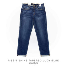Load image into Gallery viewer, Rise & Shine Tapered Judy Blue Jeans