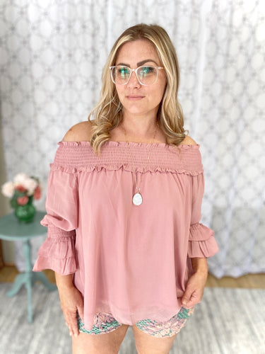 Peaceful Relaxation Top in Blush