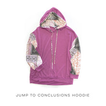Load image into Gallery viewer, Jump To Conclusions Hoodie