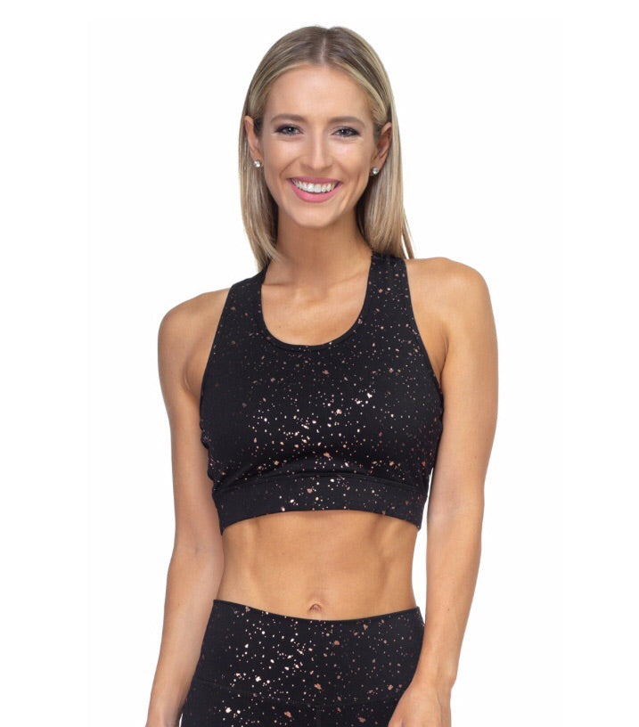 Speckled Sports Bra
