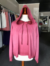 Load image into Gallery viewer, On Wednesday's Pink Crop Hoodie