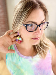 My Layered Multi Colored Earrings