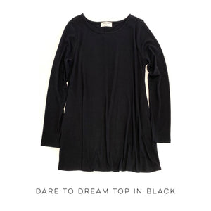 Dare to Dream Top in Black