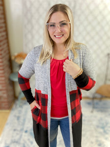 Perfect in Plaid Cardigan