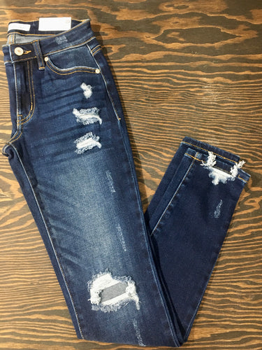 KanCan Super Skinny Distressed Jeans