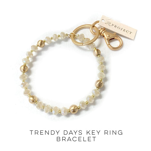 Trendy Days Key Ring Bracelet