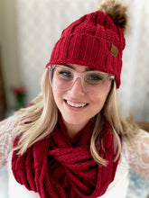 Load image into Gallery viewer, My Red Winter Beanie