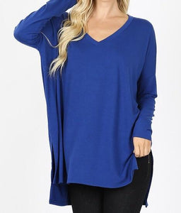 Down With The Dolman Top