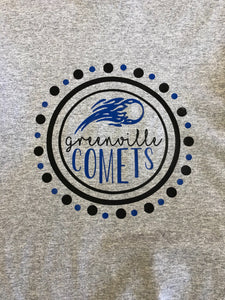 Comets Adult- Circle Tee