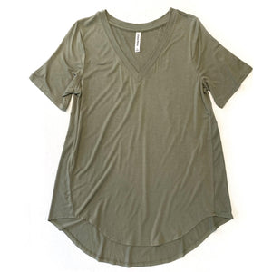 You're The One I Want Tee in Olive