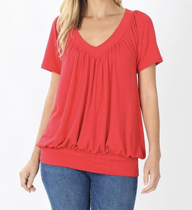 Day Dreaming Top in Red
