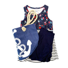 Load image into Gallery viewer, The Striped Floral Tank