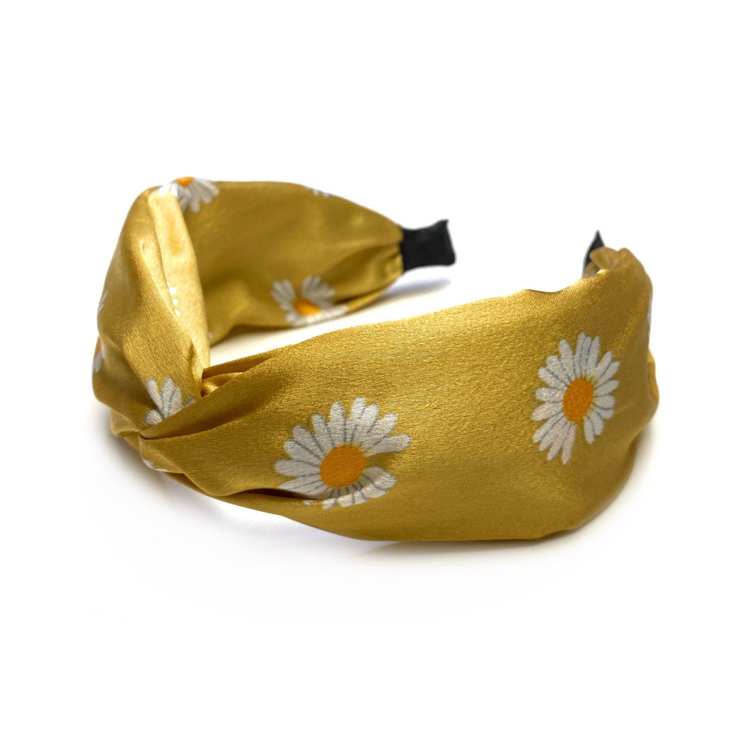 My Daisy Headband in Yellow