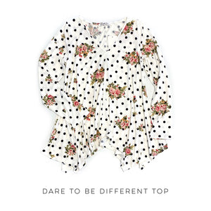 Dare to be Different Top