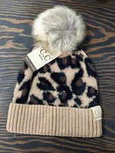 Load image into Gallery viewer, C.C. Kids Leopard Beanie