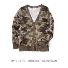 Load image into Gallery viewer, My Secret Hideout Cardigan