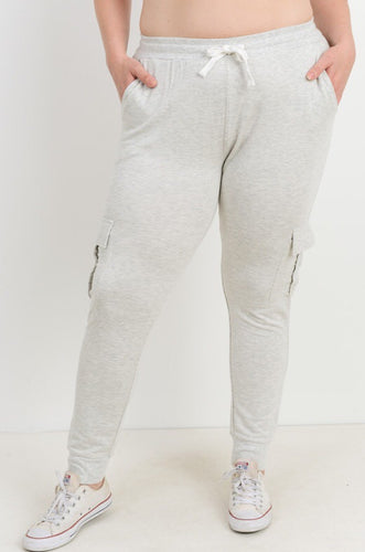 Cargo Skinny Sweat Pants
