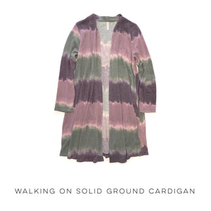 Walking on Solid Ground Cardigan