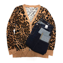 Load image into Gallery viewer, My Little Leopard Cardigan