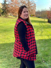 Load image into Gallery viewer, Role Reversal Plaid Vest