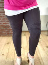 Load image into Gallery viewer, My Must Have Moto Leggings in Ash Gray