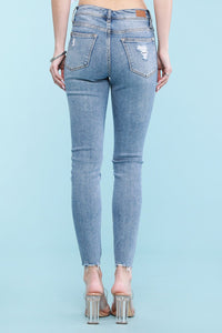 The Gingham Patch Judy Blues Skinny Jeans