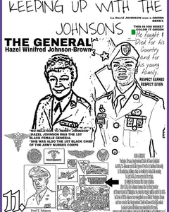 Blacks Are Patriots II General Hazel Johnson, Sgt. LaDavid Johnson and Congressional Medal of Honor Recipient Fred Johnson