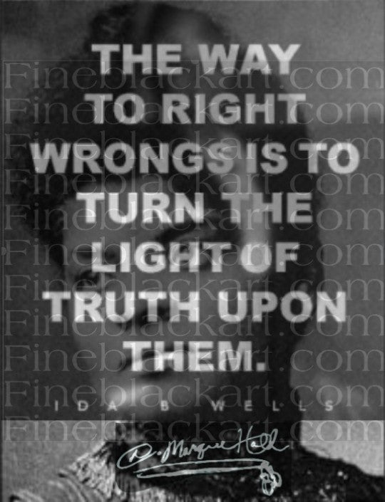 The Way to Right Wrongs By D. Marque Hall