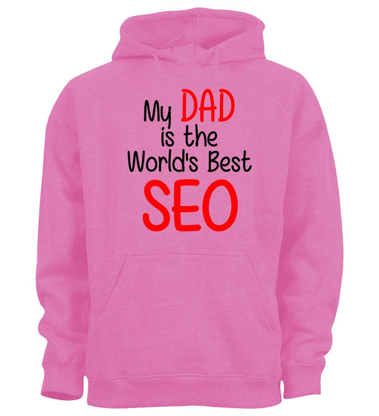 My Dad is the World's Best SEO - Children's Hoodie