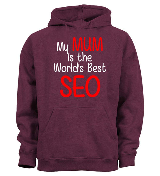 My Mum is the World's Best SEO - Children's Hoodie