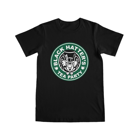 Black Hatter's Tea Party - T-Shirt
