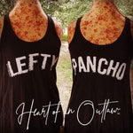 HEART OF AN OUTLAW ORIGINAL GRAPHIC TEES, TANKS & TOPS