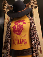 RULES BREED OUTLAWS HEART OF AN OUTLAW CUSTOM TEE