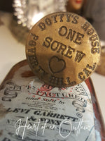 VINTAGE BROTHEL TOKEN RING - HEART OF AN OUTLAW ORIGINAL JEWELRY